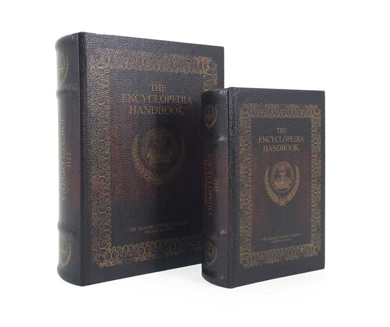 Set 2 kutije tipa knjige Encyclopedia