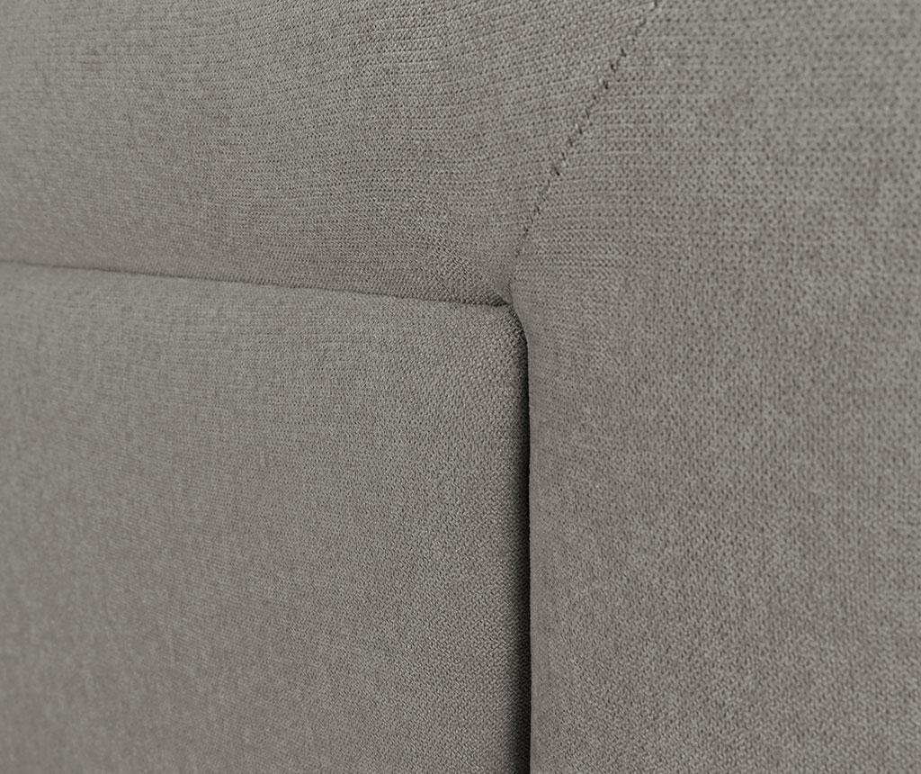 Tablie de pat Ancona Light Grey 120x180 cm