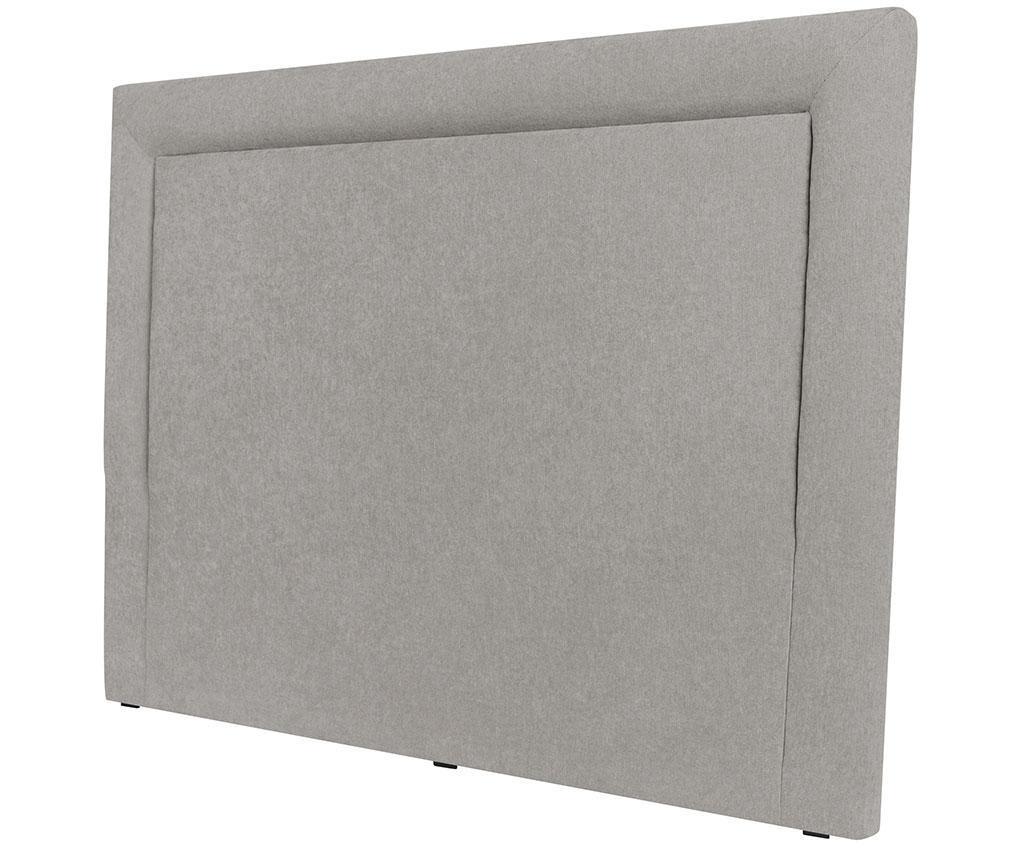 Tablie de pat Ancona Light Grey 120x200 cm