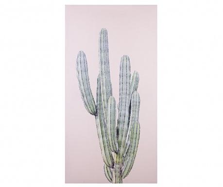 Obraz Cactus Glittter Light 50x100 cm