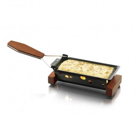 Set plita pentru branzeturi si spatula Partyclette ToGo Taste