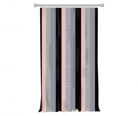 Draperie Stripe Pink 140x270 cm