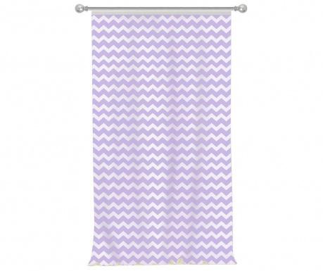 Draperie Zig Zag Purple 140x270 cm