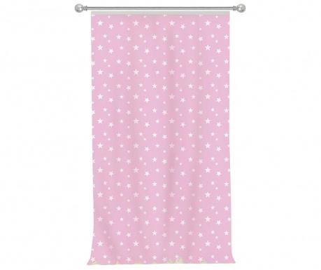 Draperie Stars Pink 140x270 cm