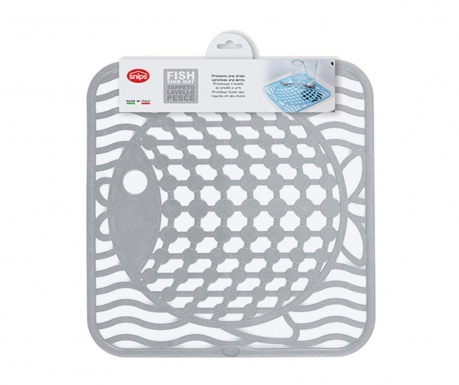 Protectie pentru chiuveta Fish Grey
