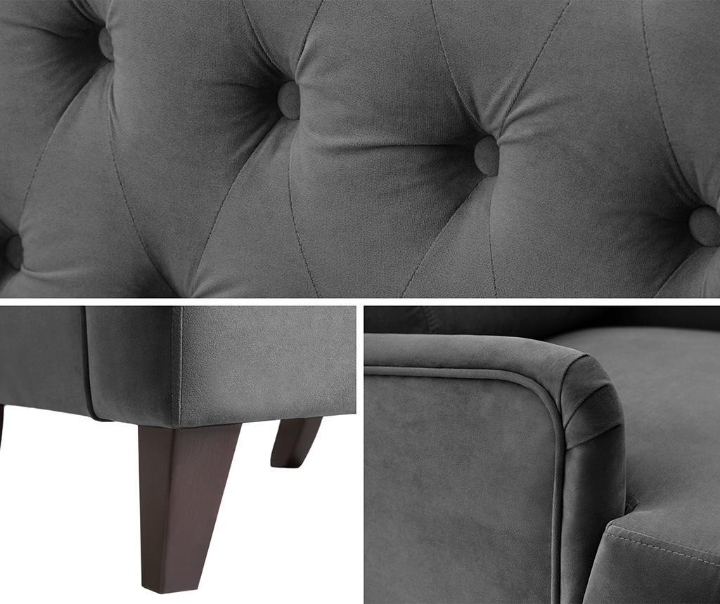 Flanelle Dark Grey Fotel