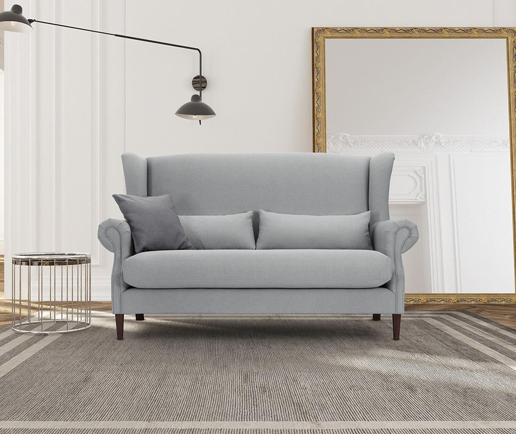 Canapea 3 locuri Alpaga Light Grey
