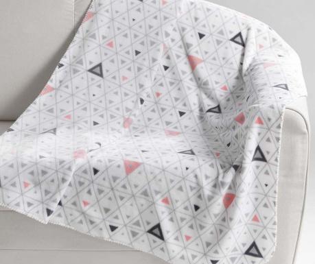 Priročna odeja Cylia White 125x150 cm