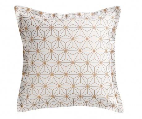 Poszewka na poduszkę Mindy White Golden 40x40 cm