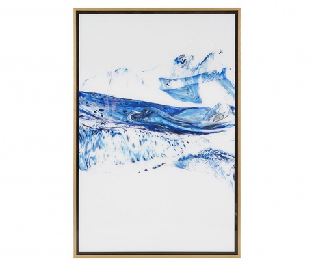 Tablou Blue Waves 62x92 cm