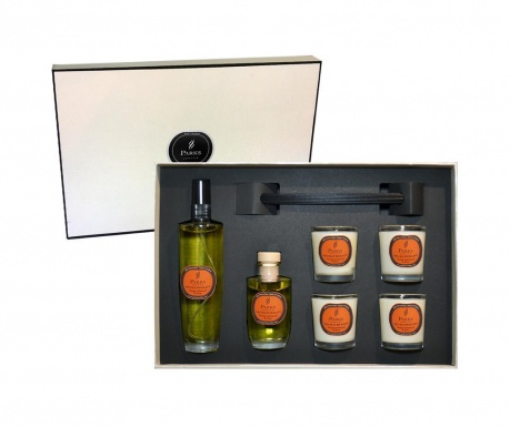 6-delni set za aromaterapijo Parks Orange & Cedarwood