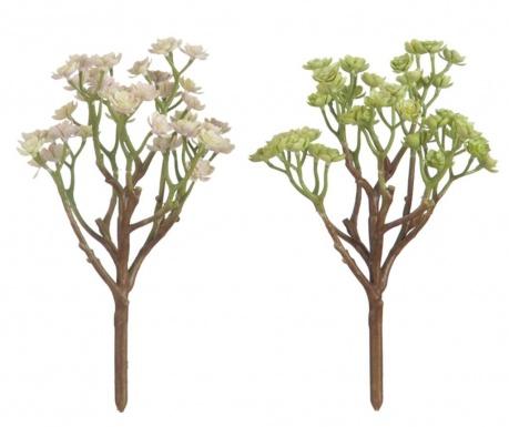 Succulent Green 2 db Művirág