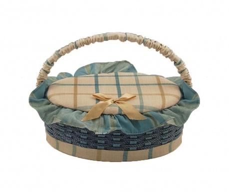 Košara s pokrovom za šivalni pribor Gialle Oval