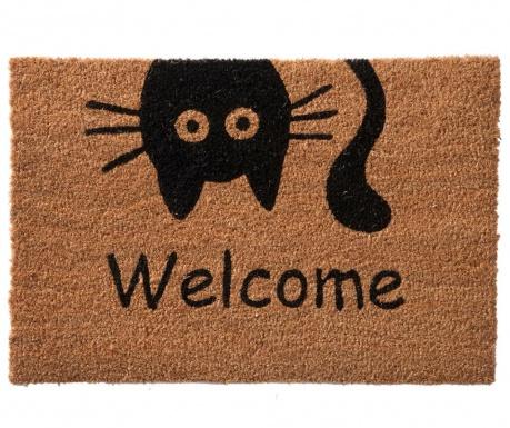 Covoras de intrare Welcome Cat 40x60 cm