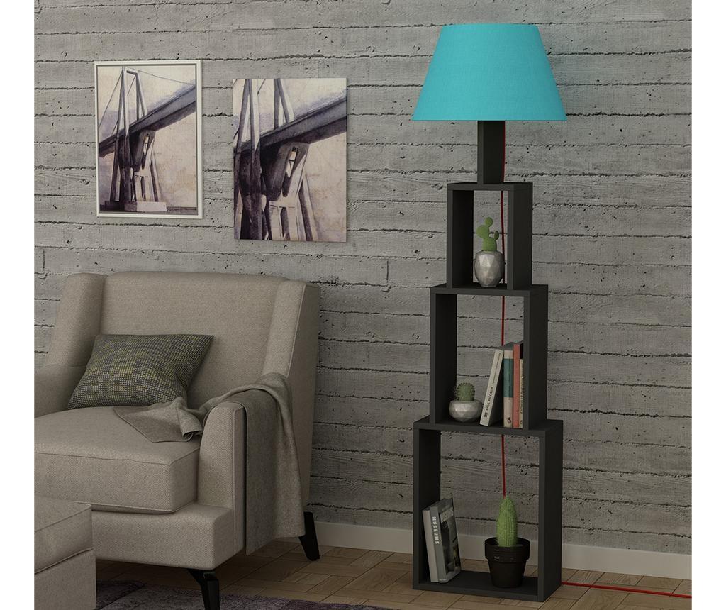 Lampadar Tower  Anthracite Blue