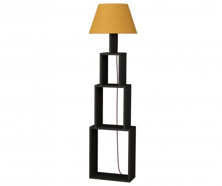 Lampadar Tower  Anthracite Yellow
