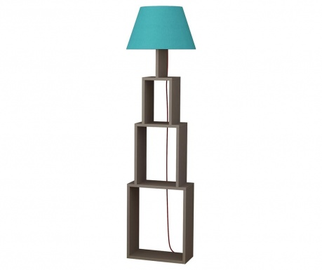 Podlahová lampa Tower  Light Mocha Blue