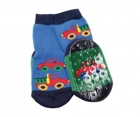 Чорапи с нехлъзгаща се подметка Old Trucks