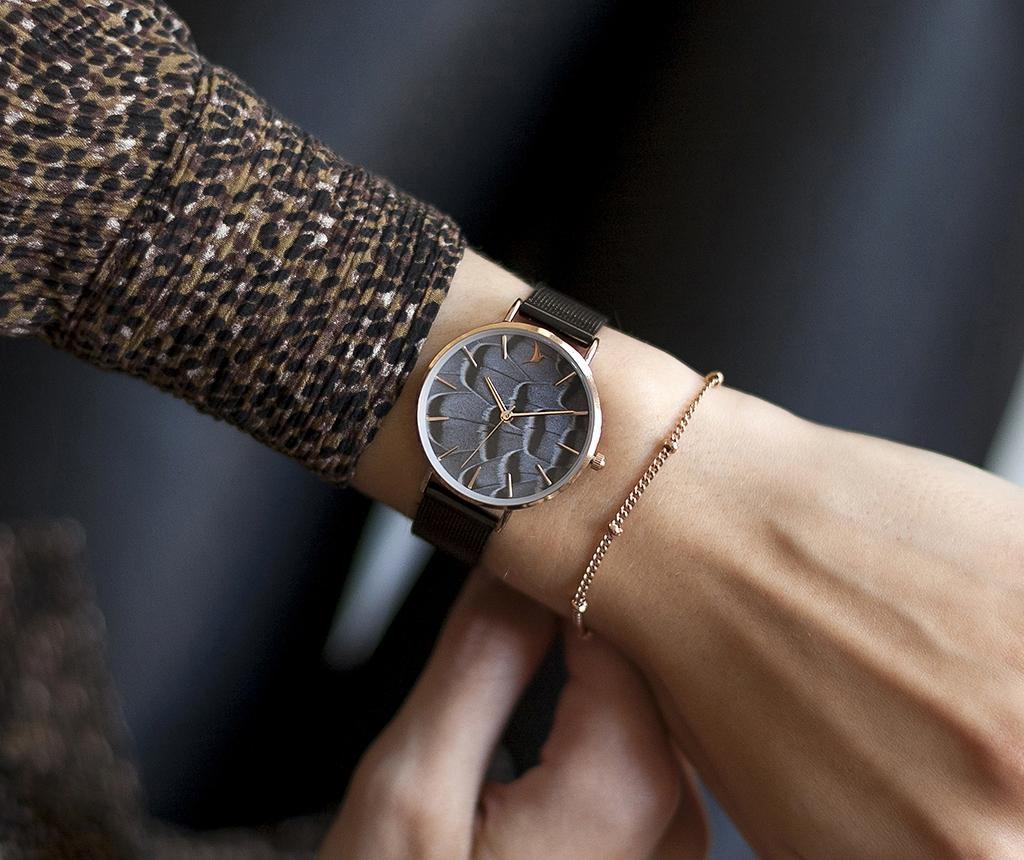Ženski ručni sat Emily Westwood Dune Glam Black