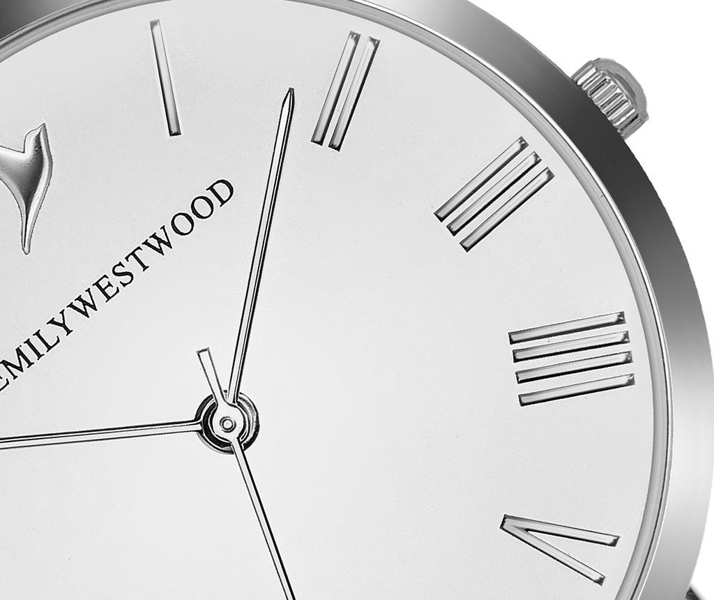 Ženski ručni sat Emily Westwood Century Glam Silver