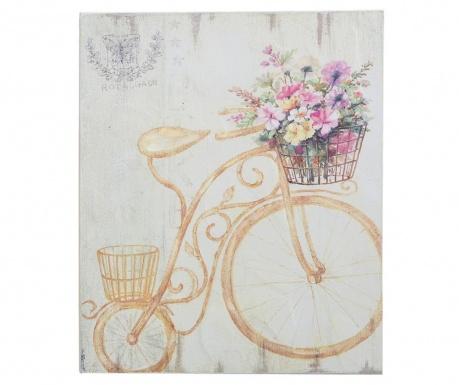 Bicycle With Big Wheel Kép 25x30 cm