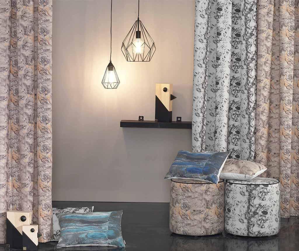 Jastučnica Abstract Dark Grey 31x50 cm