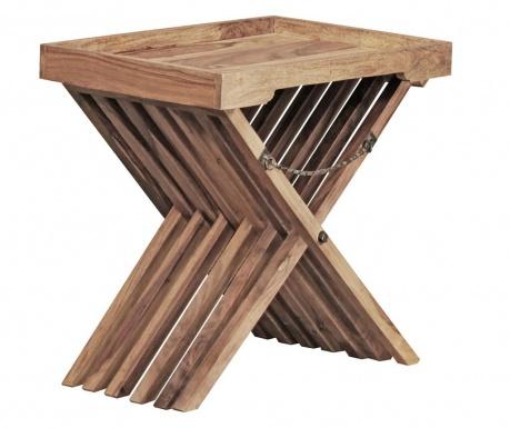 Skládací stolek s podnosem Country Style