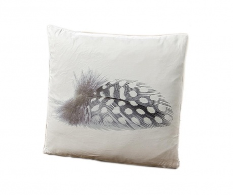 Poduszka dekoracyjna Feather Three 45x45 cm