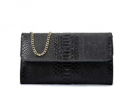 Clutch torbica Ava Black