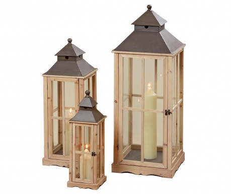 Set 3 lantern Myles