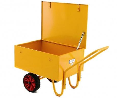 Carucior cu capac Yellow Box