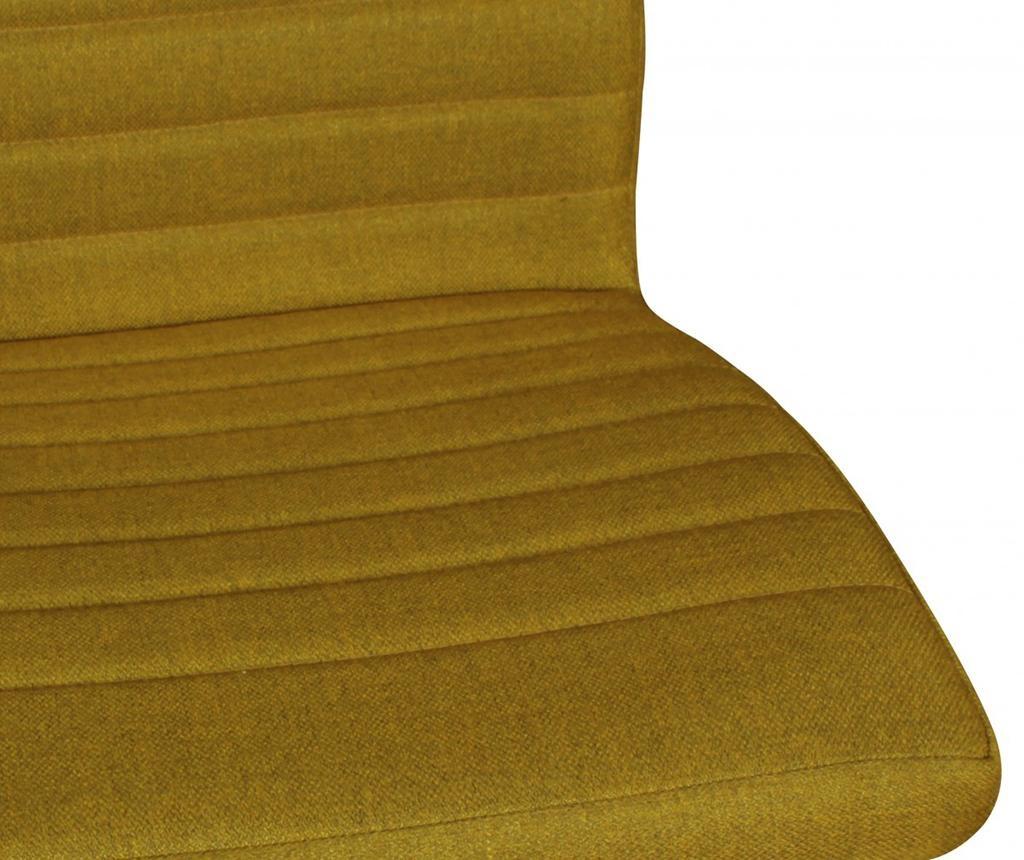 Sada 2 židlí Sola Mustard