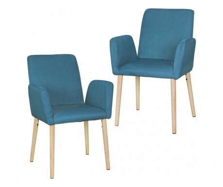 Set 2 scaune Oslo Blue