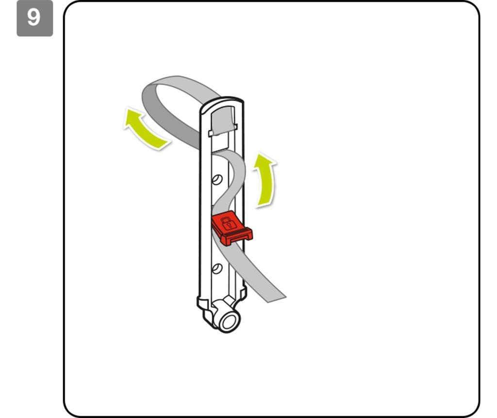Set 2 suporturi pentru ghivece Balcony Back