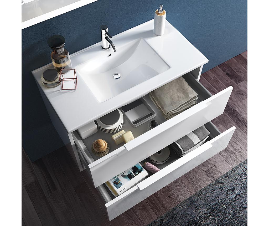 4-delni set kopalniškega pohištva Luna Misy Honey