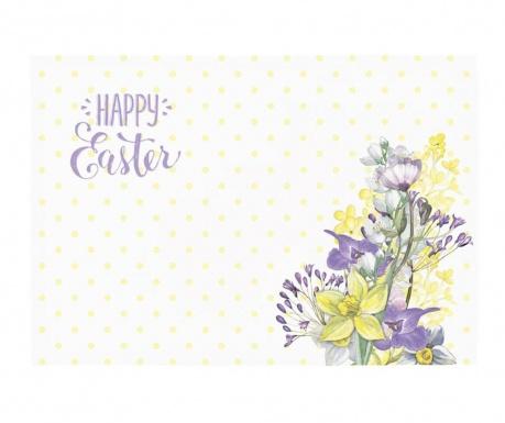 Set 2 individualuri Easter Flowers 33x45 cm