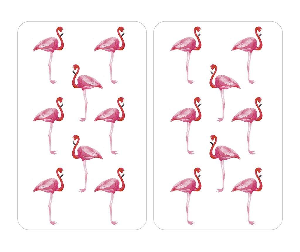 Flamingo 2 db Tűzhelyvédő lap