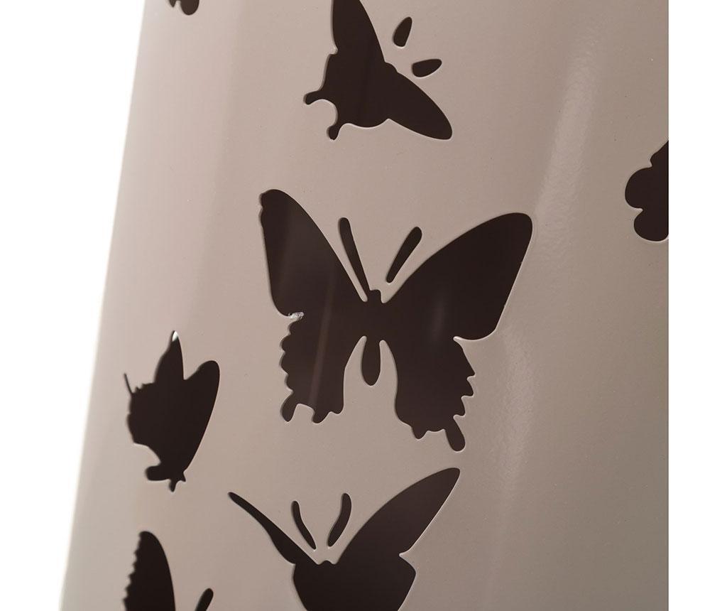 Stalak za kišobrane Butterflies Beige