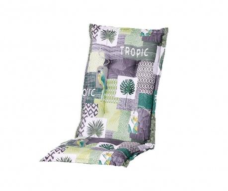 Sedežna in naslon blazina Tropic Green 50x105 cm