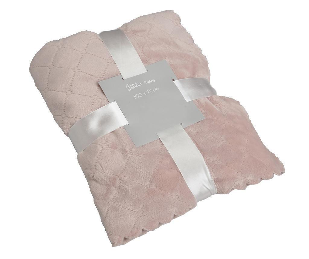 Pokrivač Delis Pink 75x100 cm