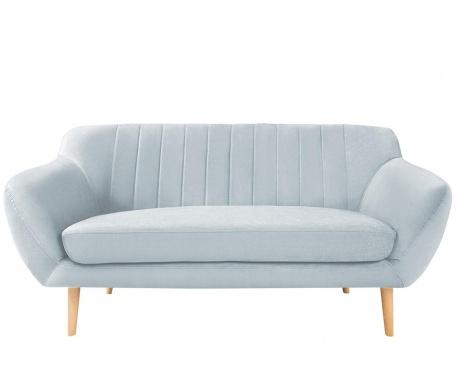 Canapea 2 locuri Sardaigne Pastel Blue