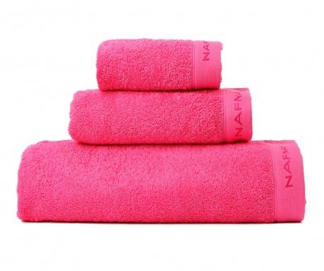 Sada 3 ručníků Casual Fuchsia