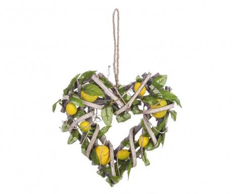 Dekoracja wisząca Lemons Heart