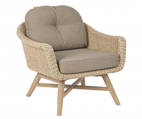 Fotel ogrodowy Marisol Natural