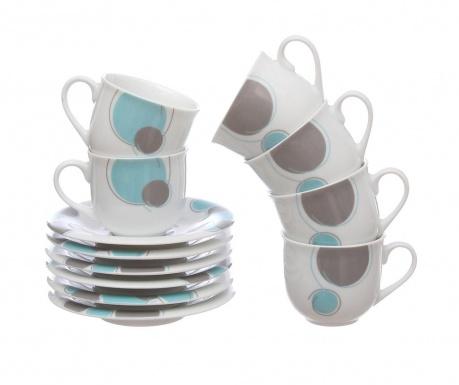 Сервиз 6 чашки и 6 чинийки Cerky Tiffany