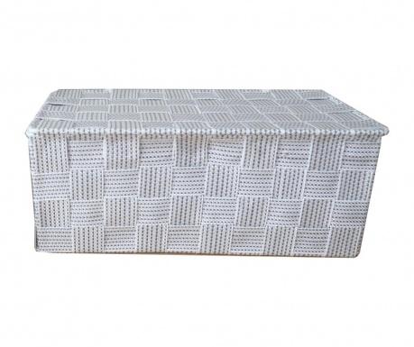Kutija s poklopcem White Grey Spotted