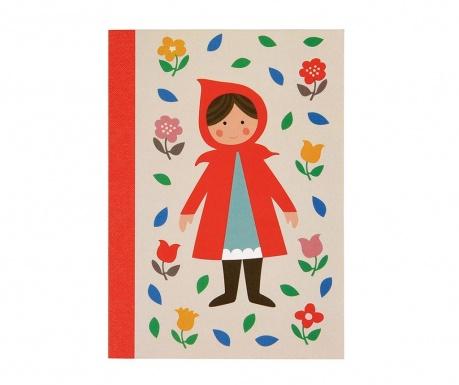Red Riding Hood A6 Füzet