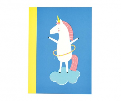 Caiet A6 Magical Unicorn