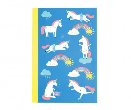 Zošit A5 Magical Unicorn