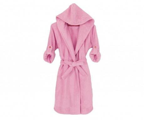 Župan s kapucí Classis Pink L/XL